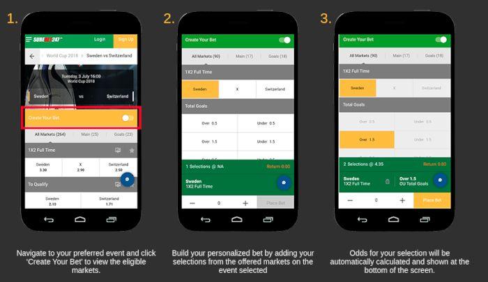 SureBet247 mobile bet builder